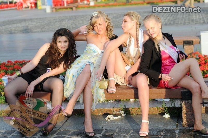фото пьяные выпускницы голые
